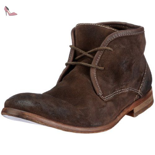 FIND Bottines Chukka Homme, Marron (Choc), 40 EU