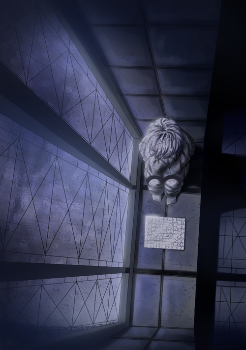 Near - Such a lonely child. I suppose when he wasn't arguing with Mello, he was left to play with his toys alone.