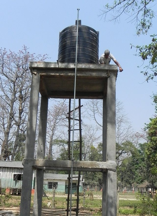 Concrete Water Tank Tower Design Google Search Stand