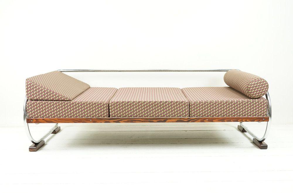 Vintage Betten   BAUHAUS SOFA VINTAGE TAGESBETT Im BAUHAUSMUSTER   Ein  Designerstück Von Ferdinand Christall