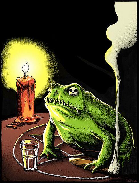 Pedro Henrique Corrêa Follow Voodoo Illustration made for a