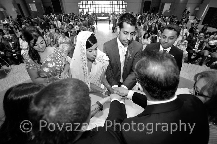 Nikkah Wedding Ceremony at Ismaili Centre Burnaby, captured by Povazan Photography - Vancouver commercial wedding photographers