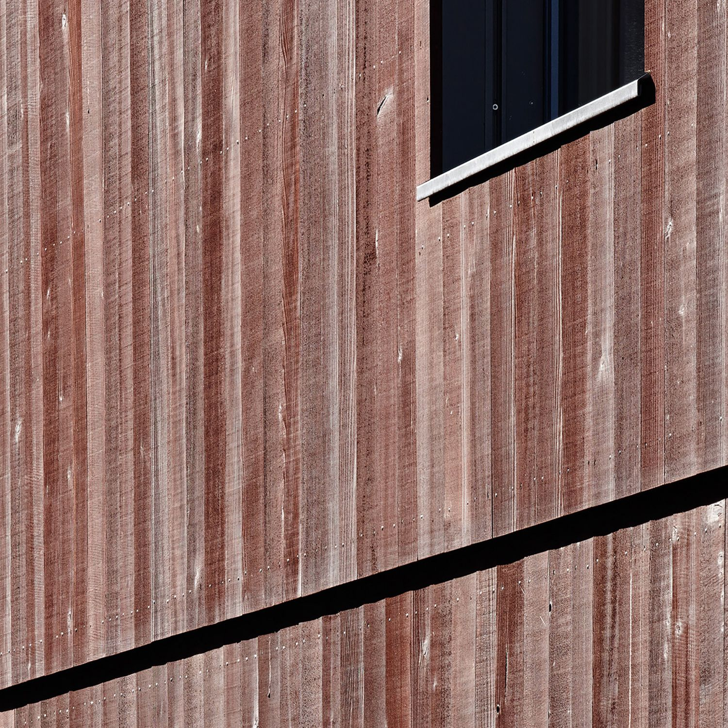 Photo of Timber construction facade three-family house in Oberrieden