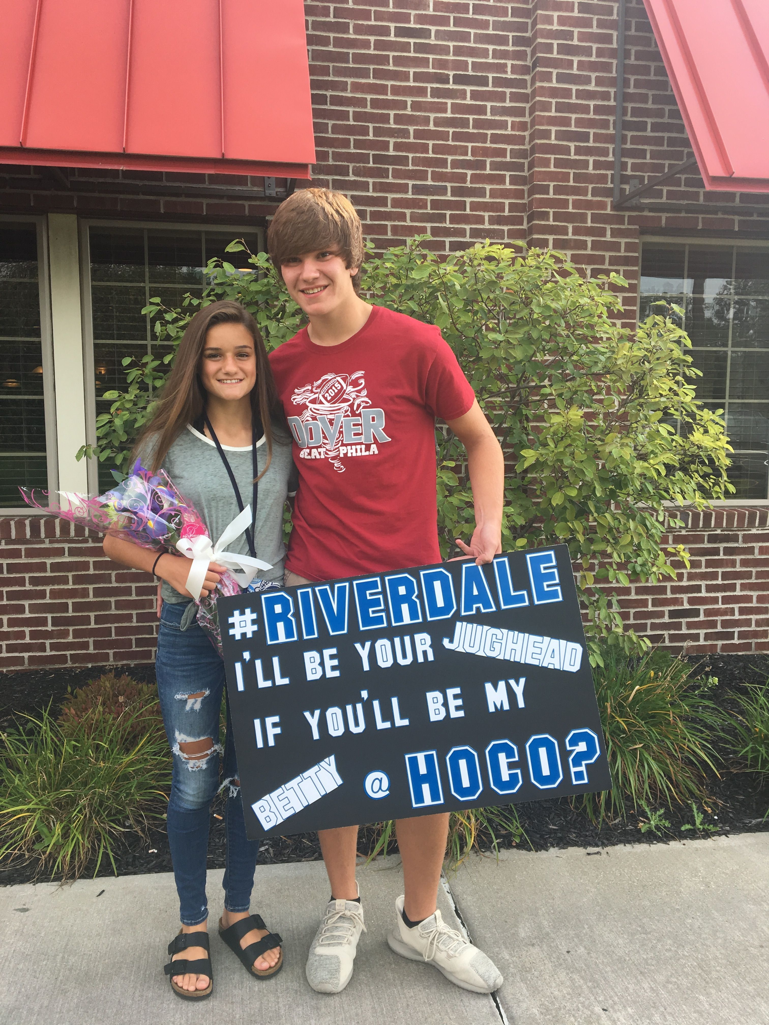 Riverdale Homecoming Proposal #homecomingproposalideas Riverdale Homecoming Proposal #hocoproposals