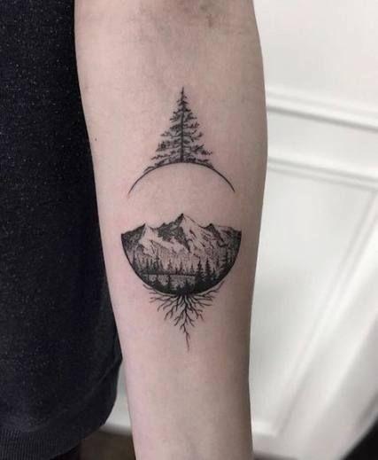 Photo of Tattoo mountain minimalist 51 trendy ideas