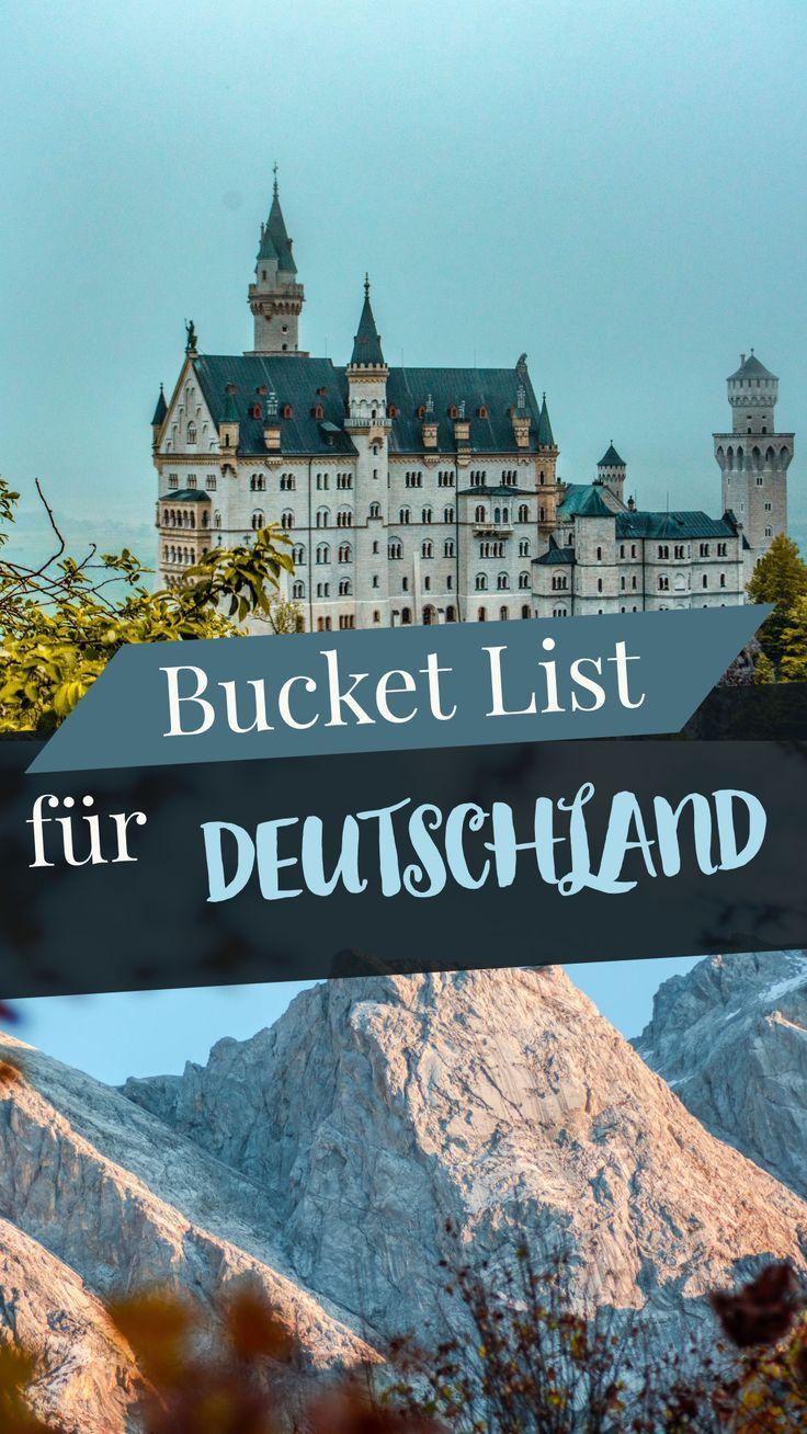 Die Deutschland Bucket List