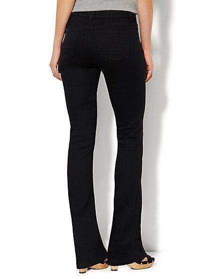 18a88a0217 Soho Jeans - Instantly Slimming - Bootcut - Black - New York & Company