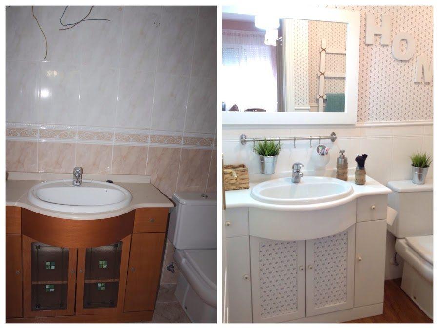 Reforma low cost para tu cuarto de baño   Reformar baño ...