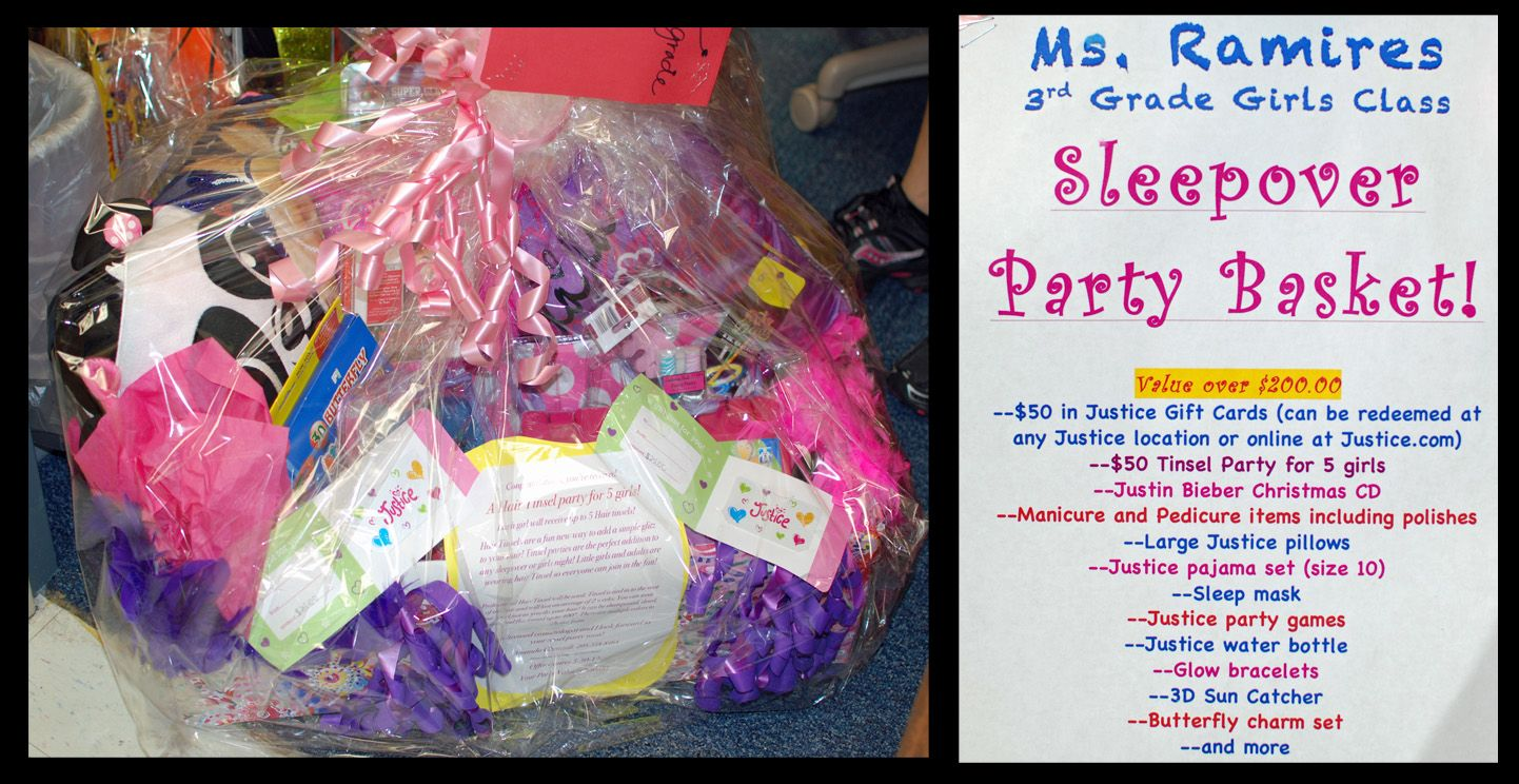 Cves Pto Justice Gift Card Sleepover Party Justin Bieber Christmas