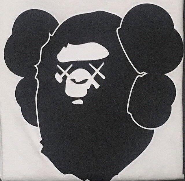 1e59c367a Bape Kaws T Shirt A Bathing Ape #fashion #clothing #shoes #accessories  #mensclothing #shirts (ebay link)