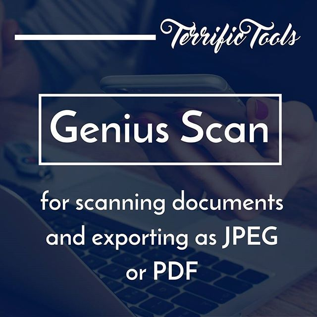 Need to scan your documents? Give Genius Scan a try