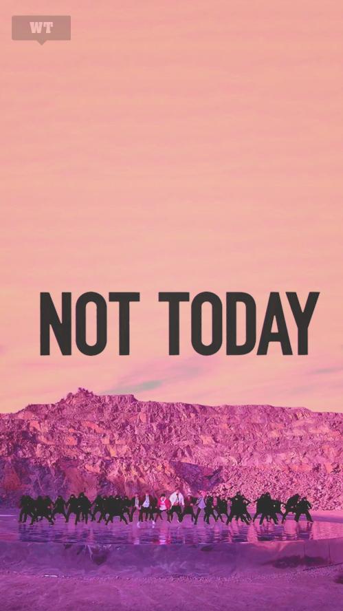 Bts Not Today Wallpaper Tumblr Mybts Bts Bts Wallpaper Bts