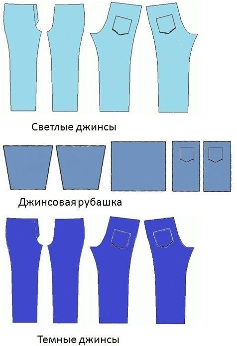 db0f5f12f750291 Джинсовое платье-мешок (Соцсоревнование) / Переделка джинсов / ВТОРАЯ УЛИЦА
