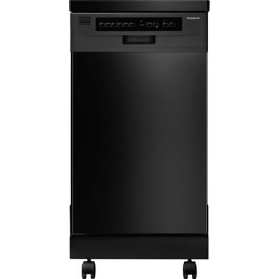 Frigidaire 20.5in 59Decibel Portable Dishwasher (Black