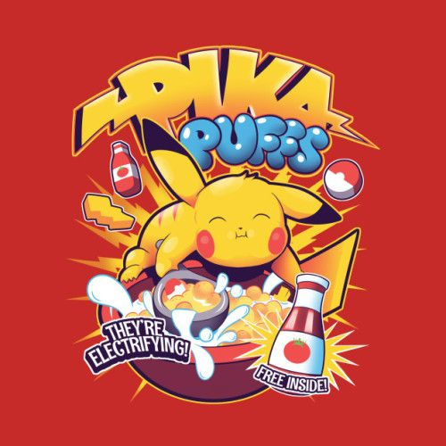 Pika Puffs Cereal - Louis Wulwick
