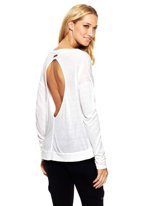 HARD TAIL Long Sleeve Open-Back Tee