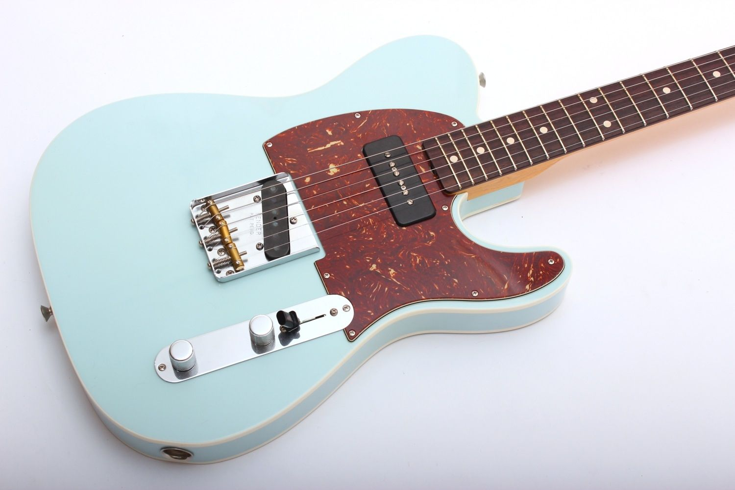 Fender Custom Shop 60 Telecaster With P 90 Closet Classic Faded Toronado Wiring Diagram Buy Sonic Blue Online From Gakcouk Unbeatable Prices And Next Day Delivery The