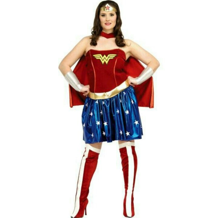 Adult Wonder Woman Costumes Costumes Pinterest Woman costumes - halloween costume ideas plus size