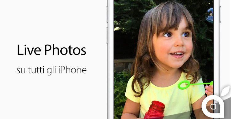 Come attivare le Live Photos su tutti gli iPhone precedenti con EnableLivePhotos | Cydia