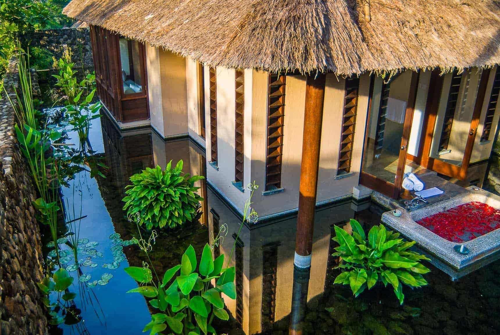 Bali Hotel Photography  Alila Ubud  Hillside Villa Outdoor