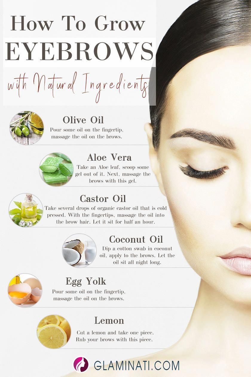 Tricks On How To Grow Eyebrows With Natural Ingredients