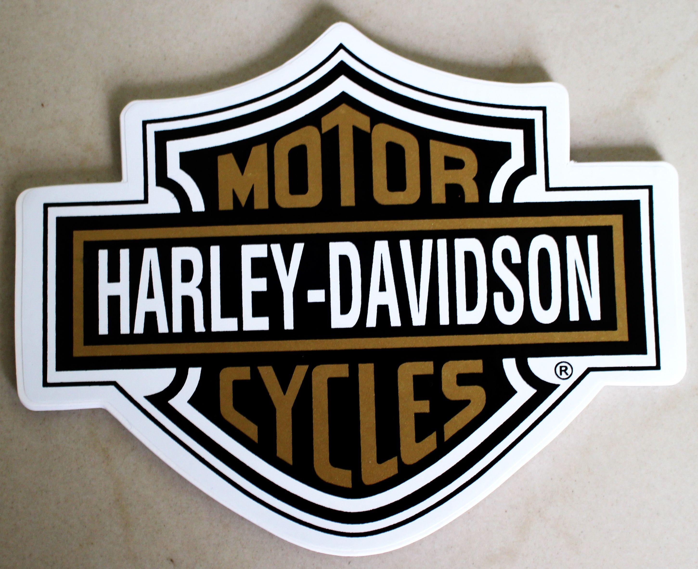 Harley Shield stickers x 150