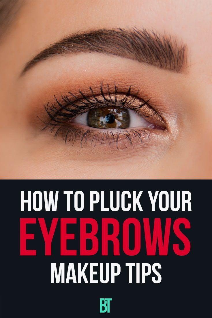 Makeup tips for beginners on plucking your eyebrows ...