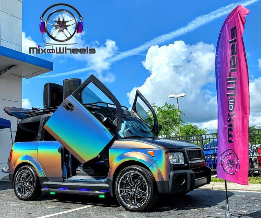 Mix On Wheels Dj Vehicles On Instagram Our Honda Element Is The