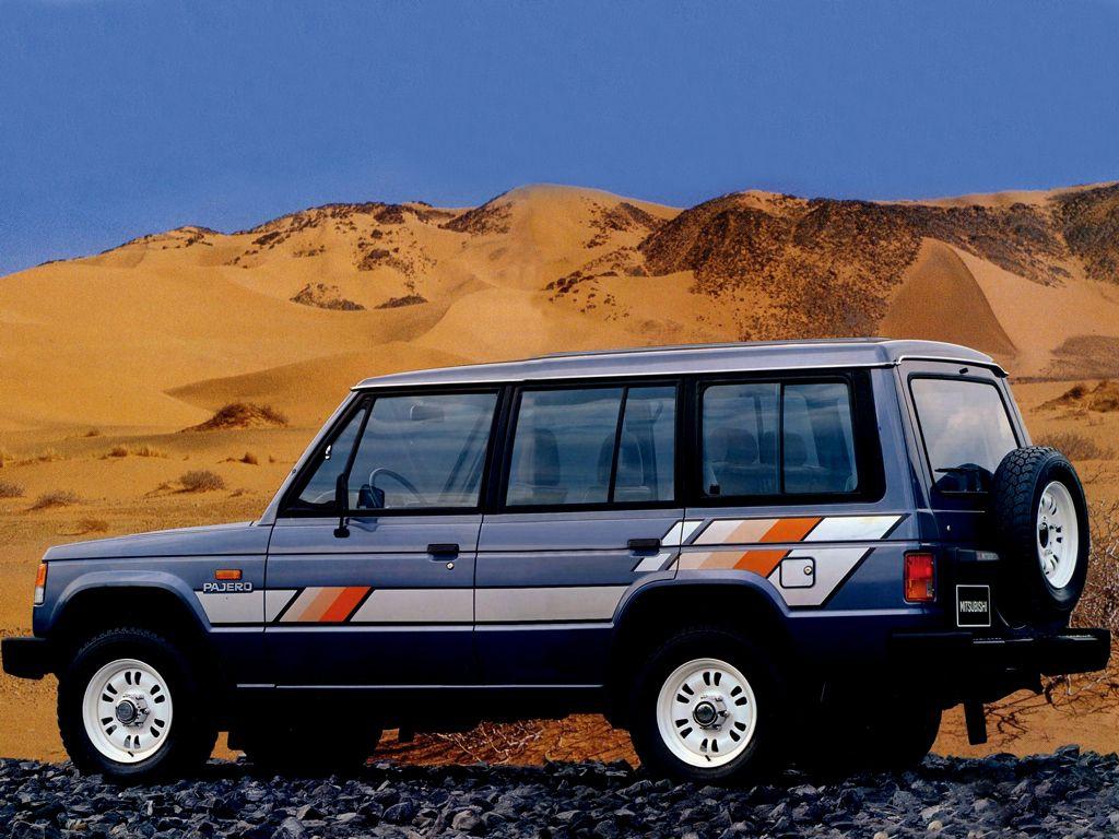 Mitsubishi Mk1 Pajero Long Wheel Base With Decal Stripe Kit