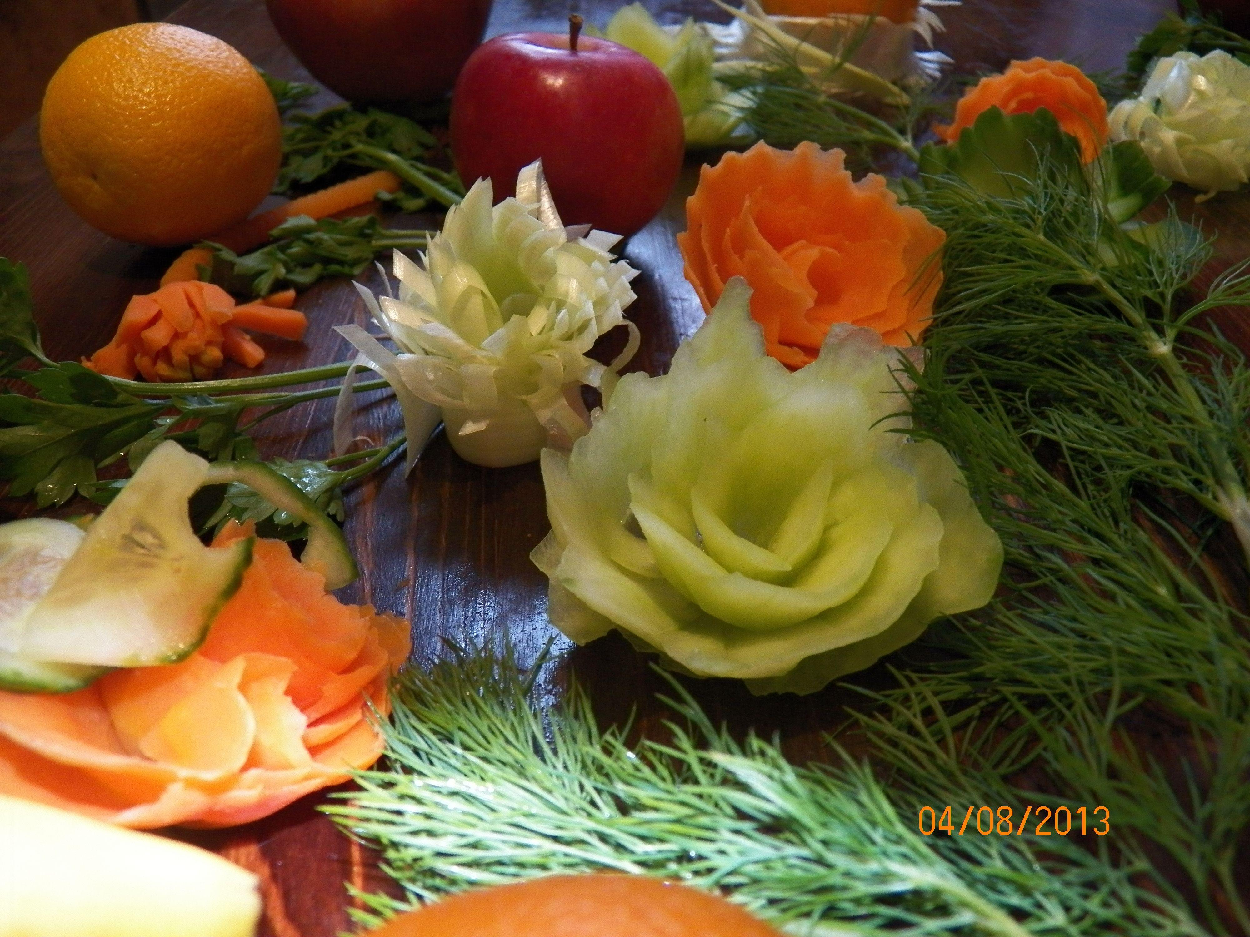 Kwiatki Z Warzyw Vegetables Food Tomato