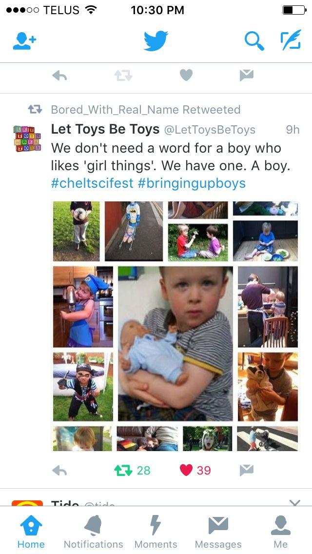 Via let toys be toys