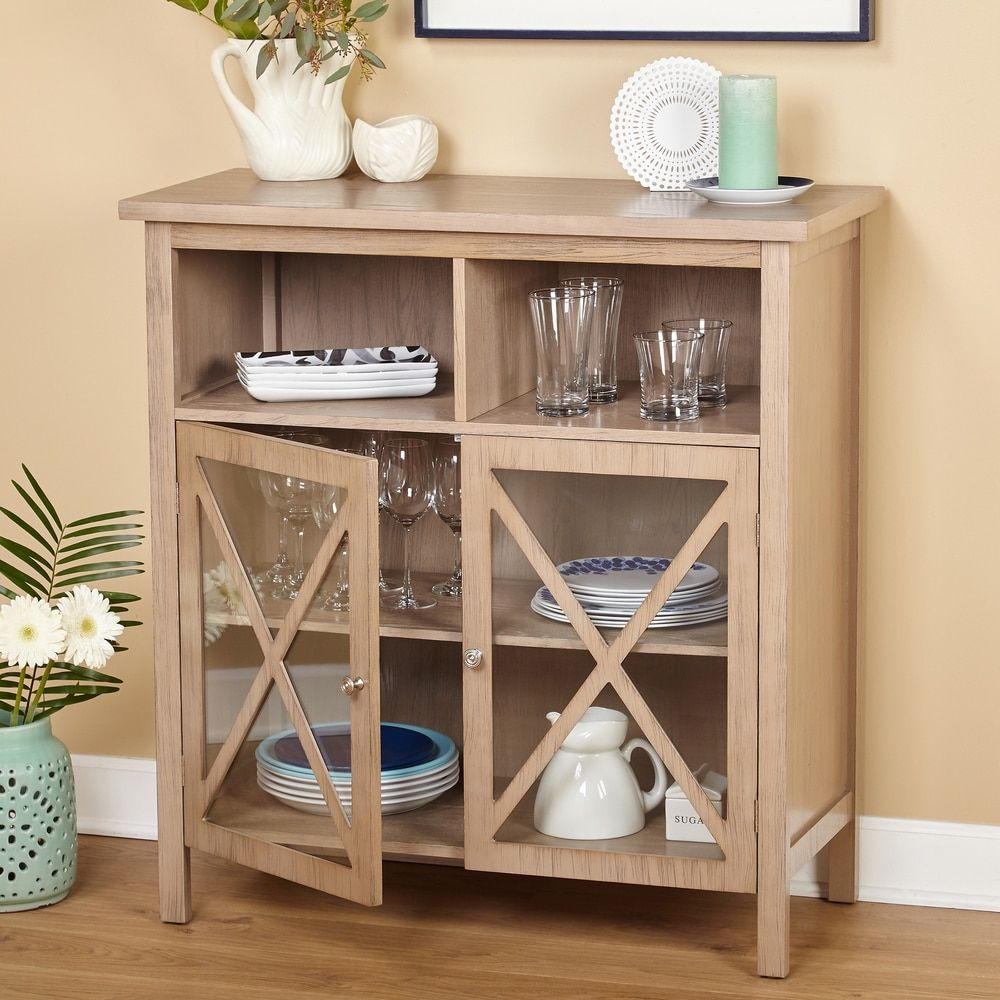 Simple Living Silvia Cabinet Free Shipping Today 18153844 Mobile