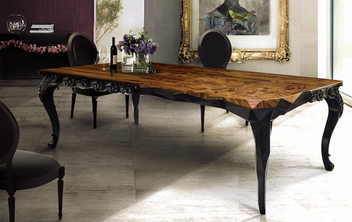Royal Table | An Incredible Design From Boca Do Lobo, Amzaing Inspiration |  Www.