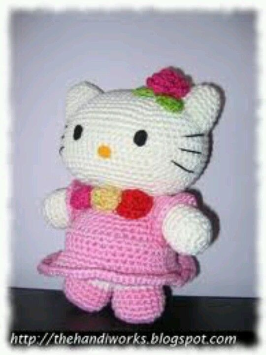 Amigurumi hello kitty | Crochet cuteness | Pinterest