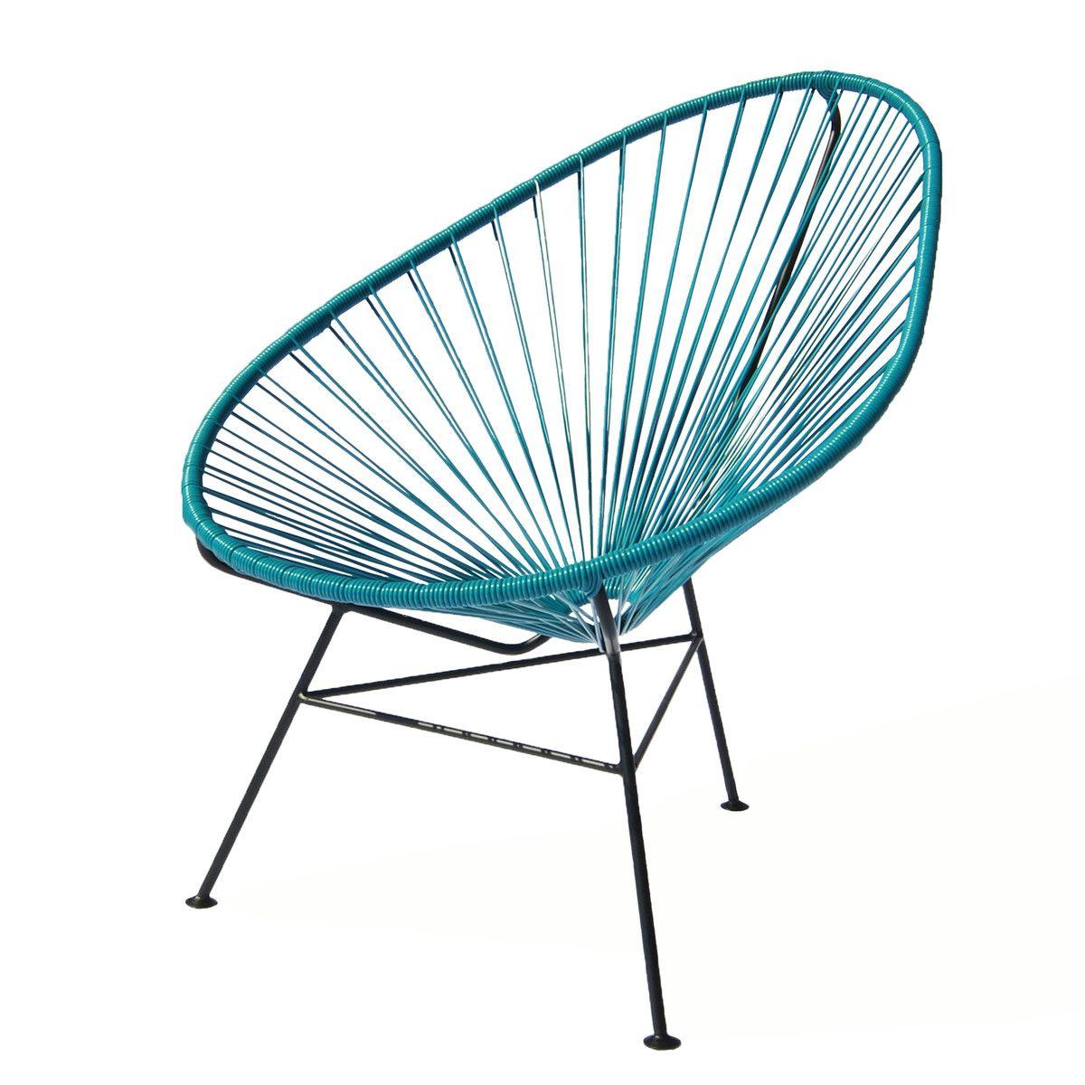 ok design the acapulco chair schwarz haus acapulco sessel und st hle. Black Bedroom Furniture Sets. Home Design Ideas