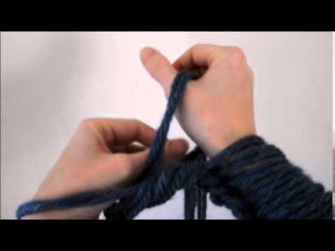 Arm Knitting Step By Step : How to arm knit step by instructions youtube