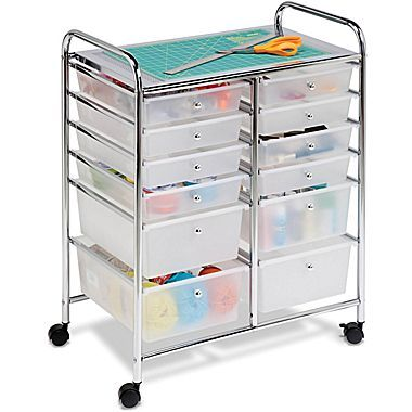 Honey Can Do Rolling Storage Cart Multicolor Crt 01683 Home