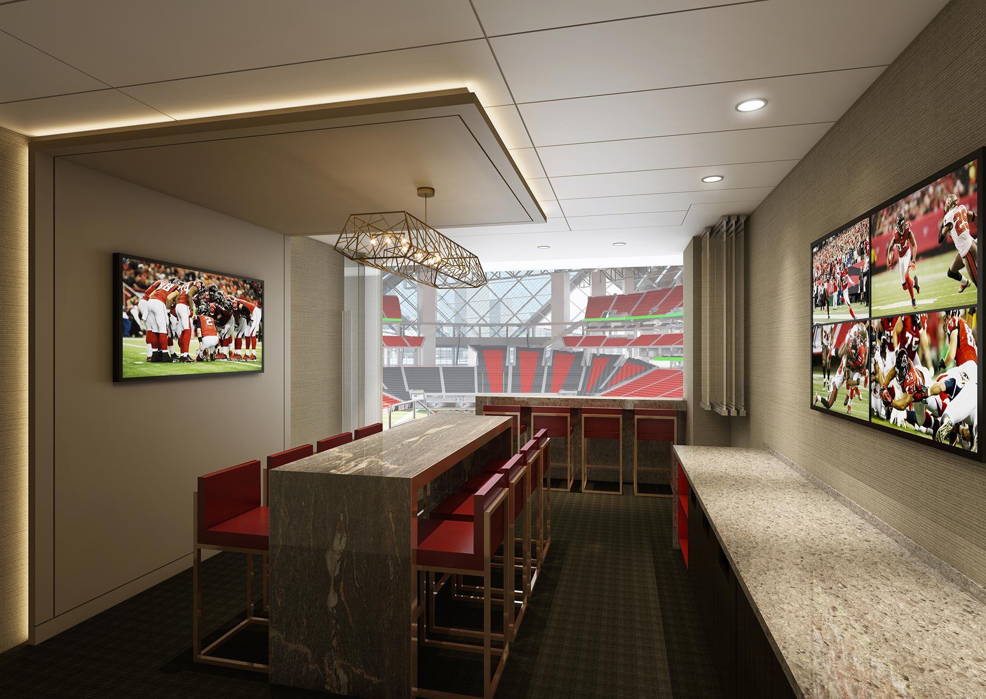 Executive Suite Facing Field Jpg 2000 1419 Stadium Design Vip