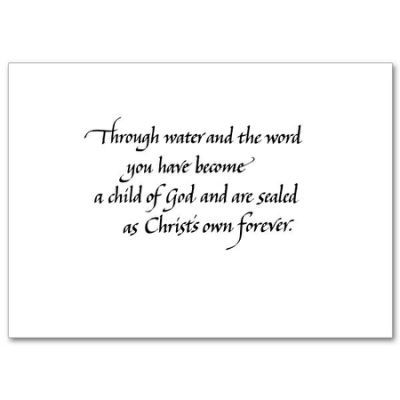 Catholic Baptism Quotes Quotesgram Baptism Quotes Baptism