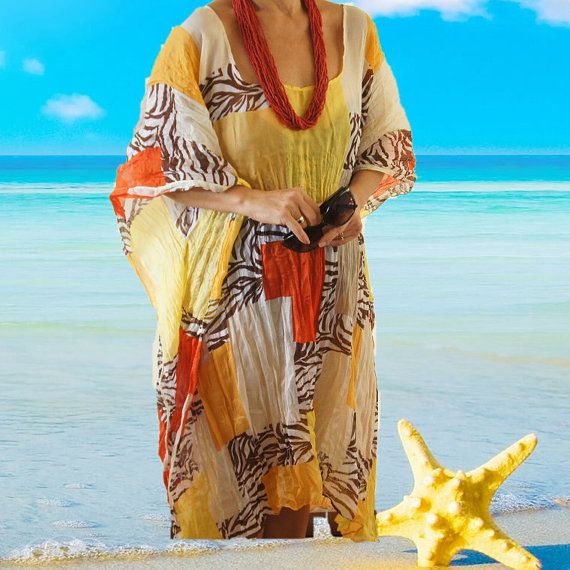 CLEARANCE, Crepe Swim suit Coverup, Crinkled Crepe Beach Kafkan, Crape Caftan swim suit cover up #mensbathingsuits