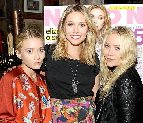 Elizabeth Olsen Ashley Is My Favorite Mary Kate Forgot My Birthday Celebrity Siblings Elizabeth Olsen Stylish Celebrities