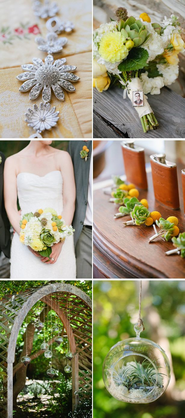 Eco Friendly, Succulent Themed Wedding In California Eco Friendly Succulent