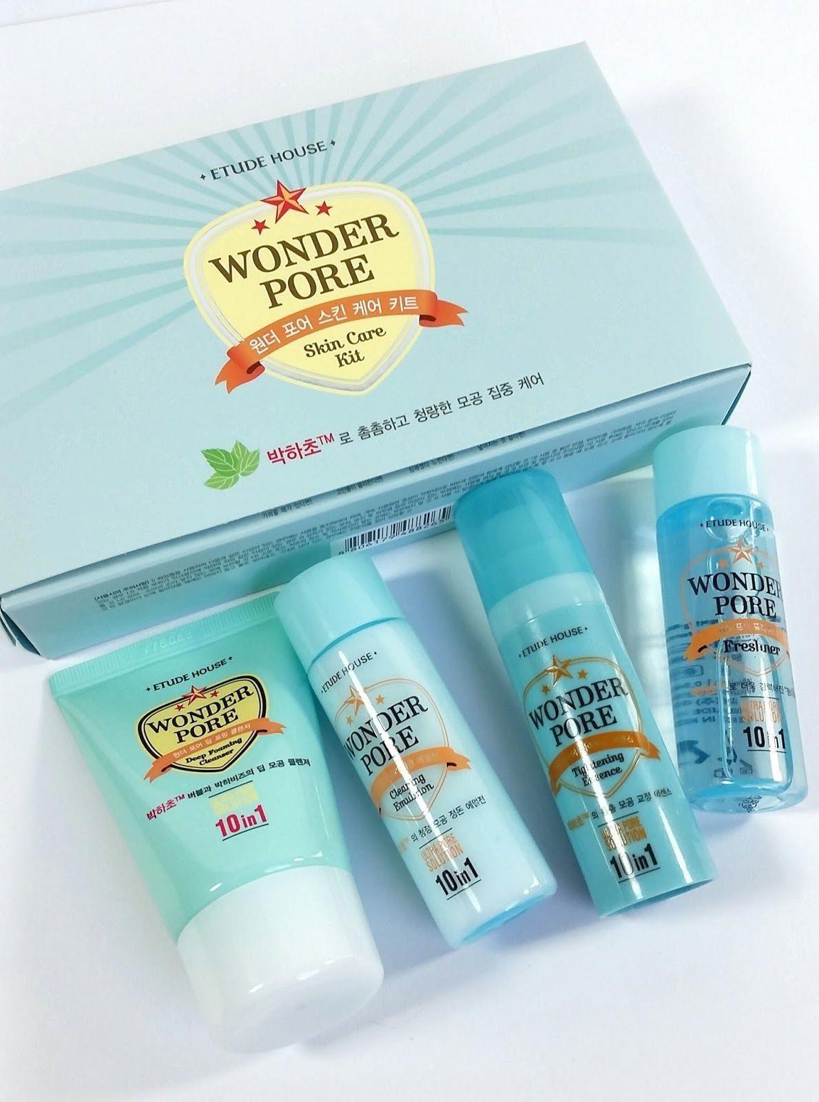 Etude House Wonder Pore Skin Care Kit