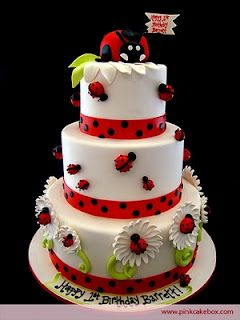 Ladybug Cake Little Girl S Birthday I Really Like This One Think You