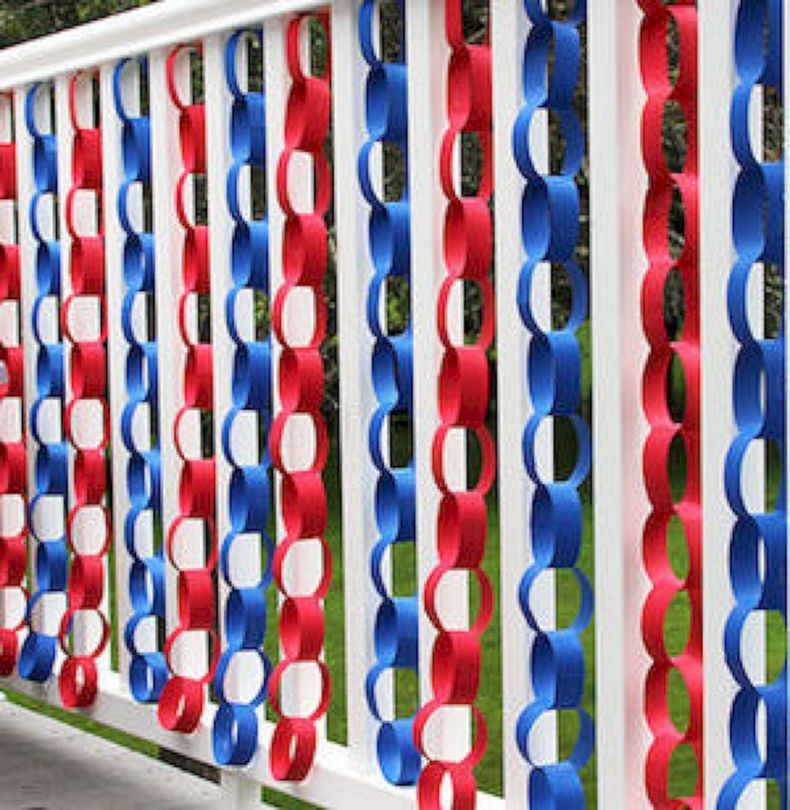 85 Best Creative and Easy 4th of July DIY Home Decor Ideas On A Budget images