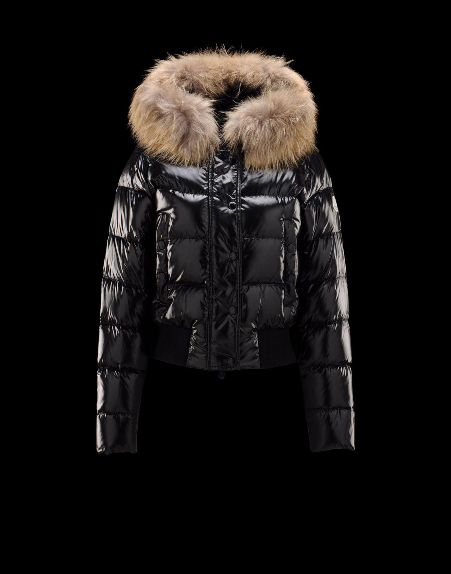 moncler womens black alpine jacket