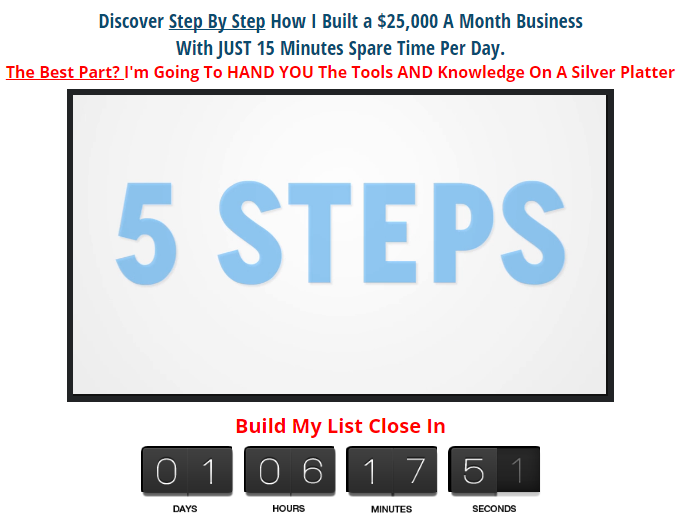 Learn the 5 easy steps I have been using to build my list in the THOUSANDS in my spare time! http://www.workwithbrettegan.com/?p=92
