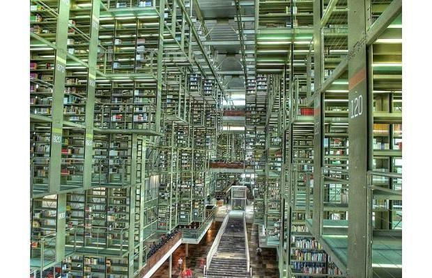 The José Vasconcelos Library in Mexico