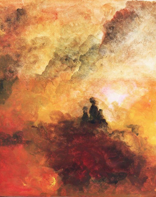 "Saatchi Online Artist: Atalay Mansuroğlu; Watercolor, 2011, Painting ""Friedrich in Orient"""