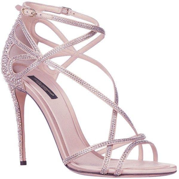Sandales Embelli Cristal Dolce & Gabbana MUbQa